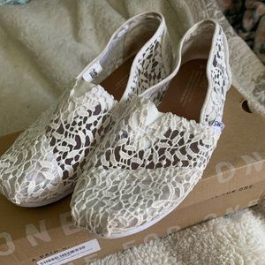 0f136efc07b Women s Toms Wedding Shoes on Poshmark